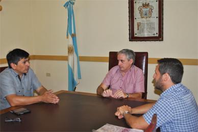 Chascomús: Para acordar procedimientos ante eventualidades el Intendente Gastón con el Jefe Zonal de EDEA