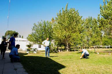 Ranchos: Se avanza en el relevamiento de la Escuela Agropecuaria
