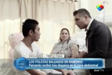 """Anoche: En el programa de TV """"La Cornisa"""" que conduce Luís Majul, se emitió una nota con Fernando Pengsawath y Lucrecia Yudati."""