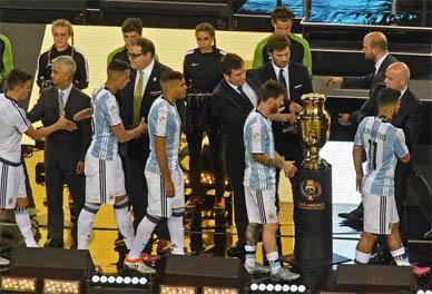 Copa América Bicentenario: Argentina no pudo con Chile en los '90, ni en el alargue y sucumbió desde los 11 metros
