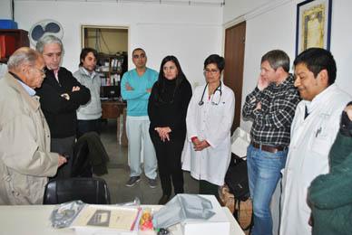 Chascomús: Javier Gastón recibió un nuevo electrocardiógrafo para el Hospital Municipal