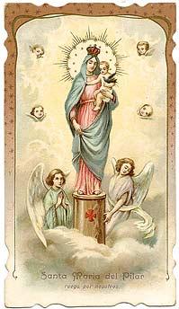"""Programa Oficial de actos en Honor a la  """"Virgen del Pilar"""" Patrona del Pueblo de Ranchos"""