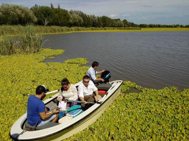 Ranchos: ESTUDIOS REALIZADOS SOBRE EL AGUA DE  LA LAGUNA