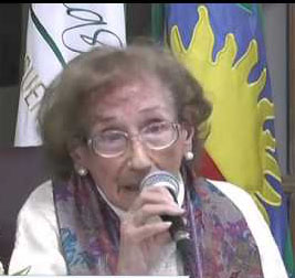 Alicia Lahourcade: La prestigiosa historiadora se refirió al aniversario de Chascomús