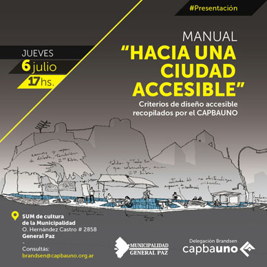"""Municipalidad de General Paz: JORNADA """"HACIA UNA CIUDAD ACCESIBLE""""."""