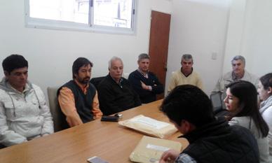 Municipalidad de General Paz: SE LICITARON CINCO CUADRAS DE PAVIMENTO PARA LOMA VERDE.