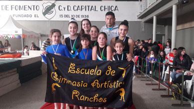 Gimnasia Artistica: Jornada excelente para las rancheras en el Club Sporting