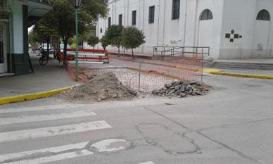 Municipalidad de General Paz:  CONTINÚAN LAS OBRAS DE PAVIMENTO Y MEJORAMIENTO URBANO