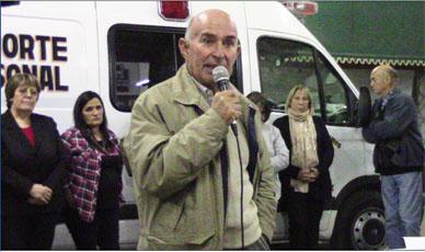 Bomberos Voluntarios recuerda al Cmte. Mayor Horacio Lopez