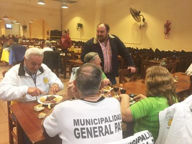 Municipalidad de General Paz: EL INTENDENTE ALVAREZ VISITO LA DELEGACIÓN DEL DISTRITO EN MAR DEL PLATA.