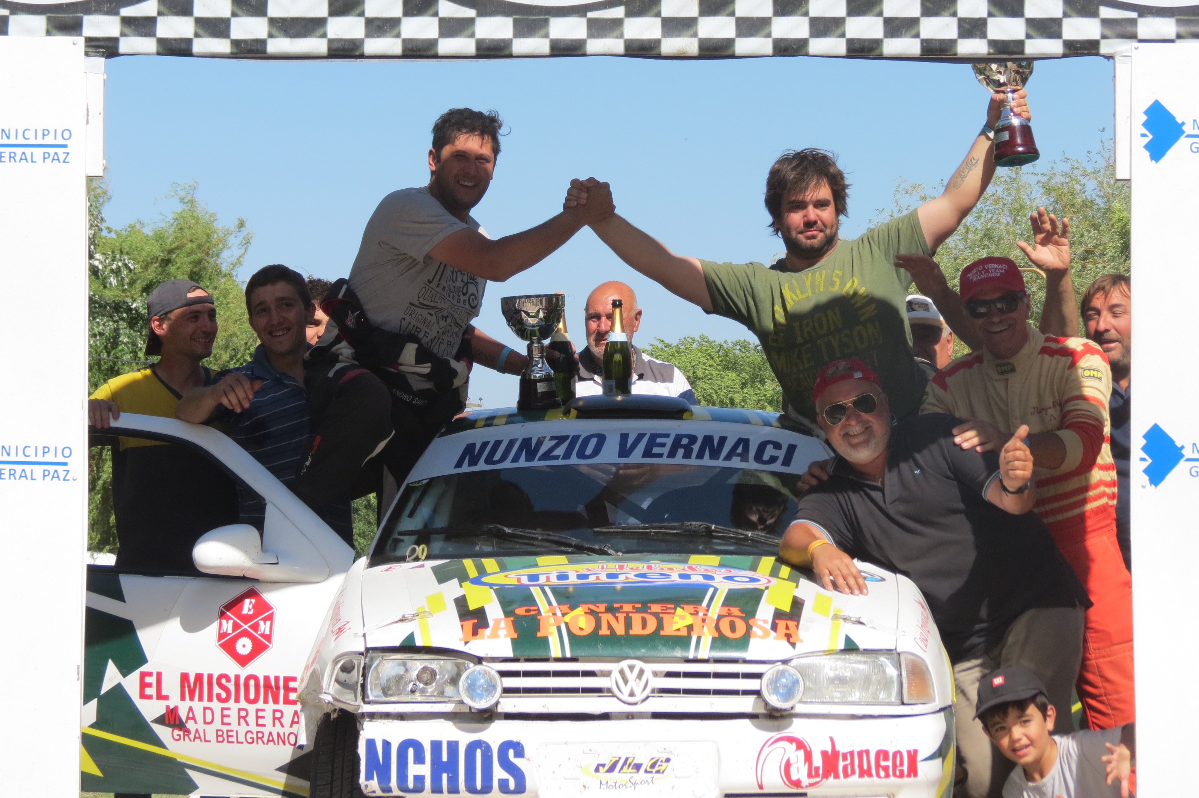 El Rally en Ranchos se convirtió en la mejor edición de la prueba