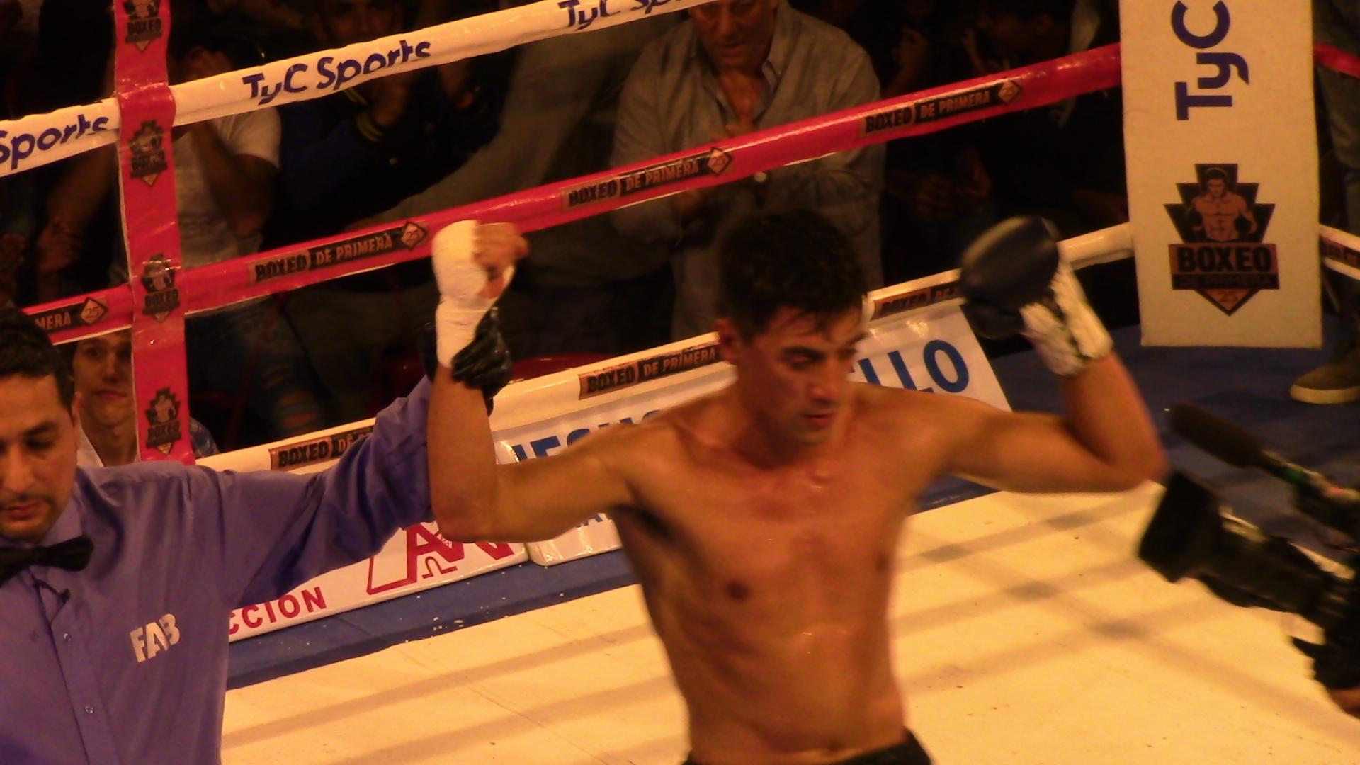 Se realizó el festival de Boxeo