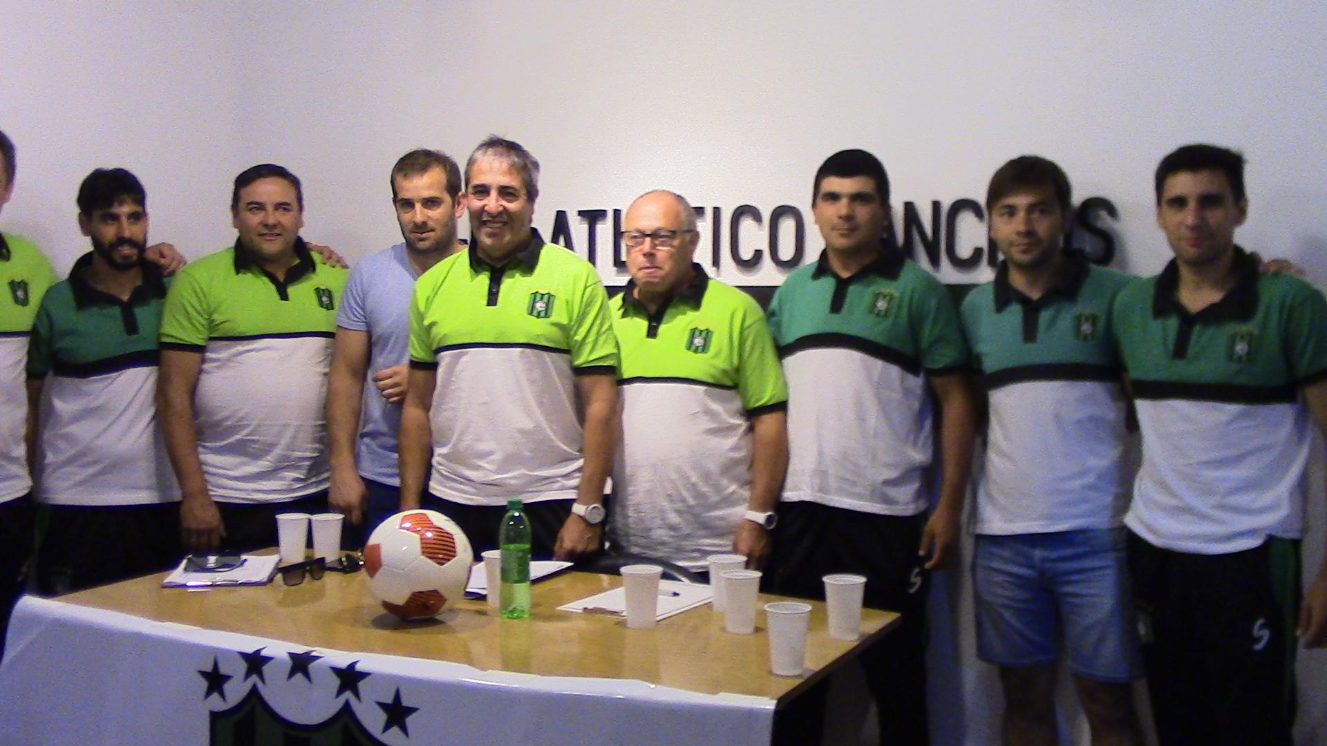 Los nuevos DT del Club Atlético Ranchos