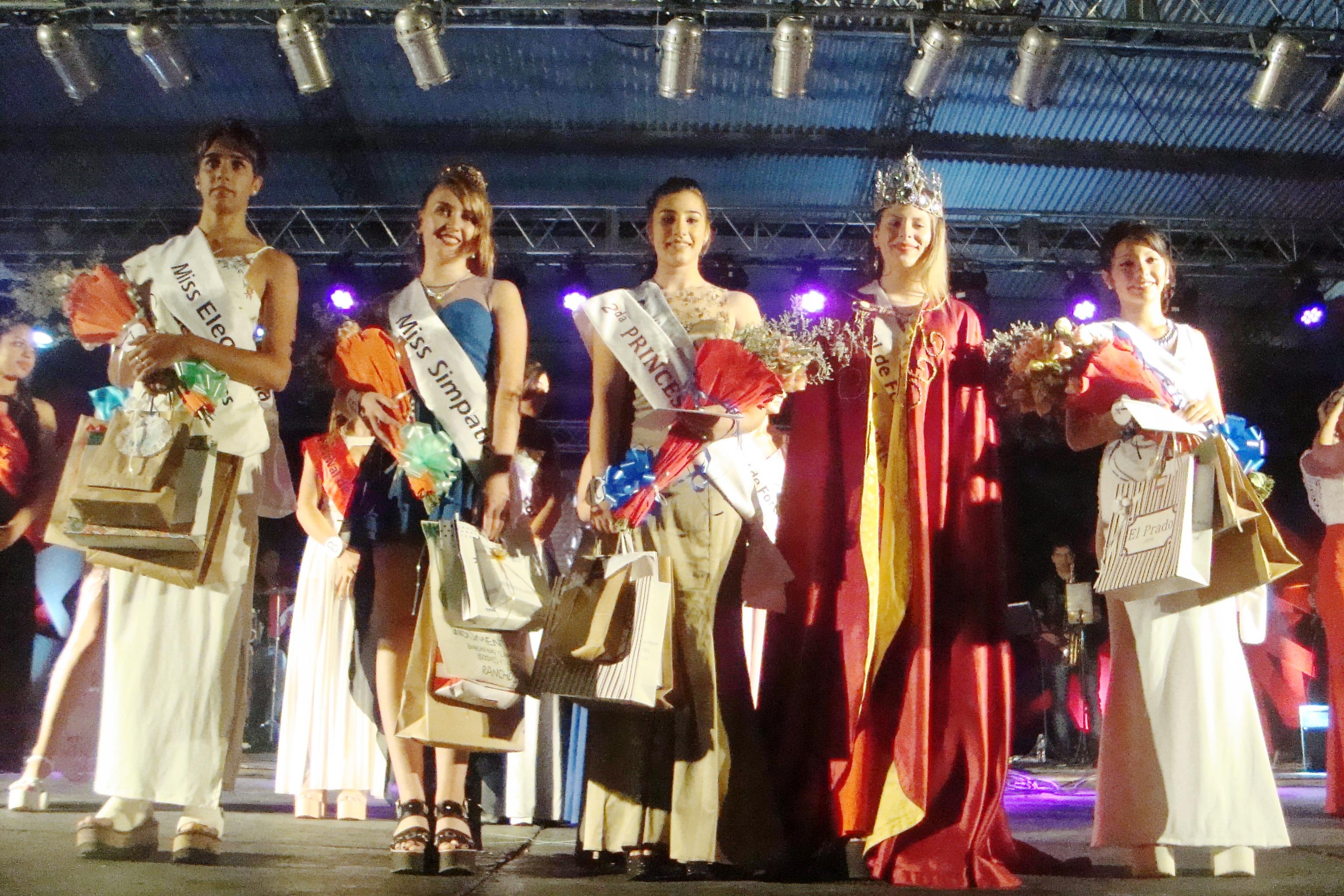 Ranchos: El Festival de Fortines tiene nueva soberana, se llama Moira Sabatie