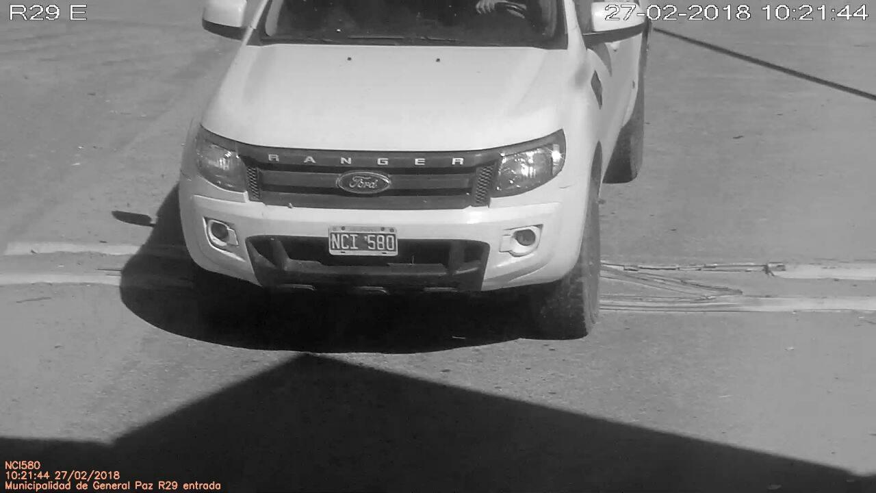 ULTIMO MOMENTO: Apareció la Pick Up robada a M. Bigatti