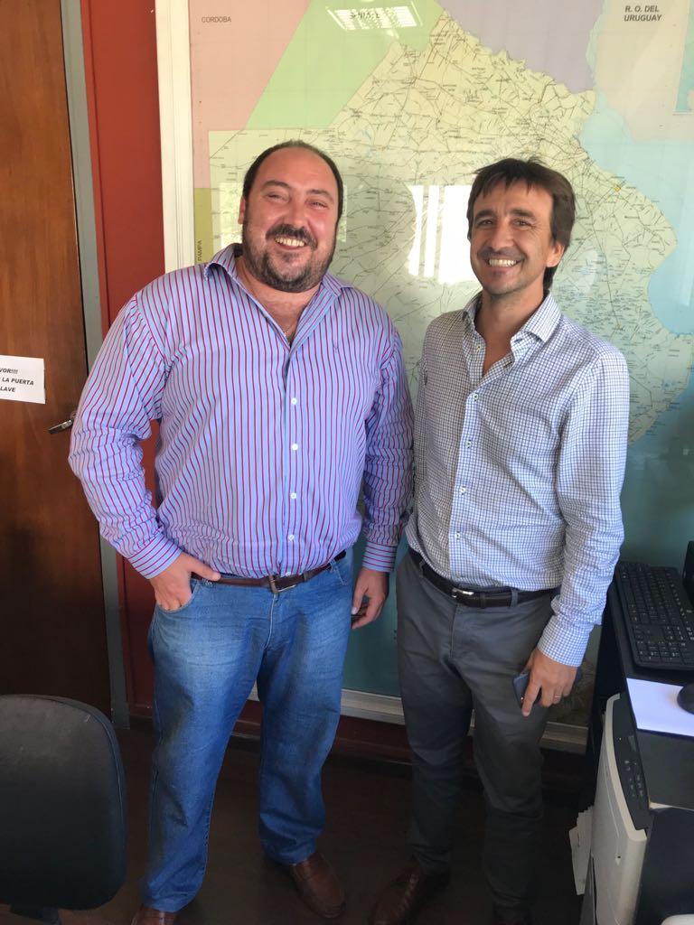 ALVAREZ SE REUNIO CON EL DIRECTOR DE INFRAESTRUCUTRA ESCOLAR