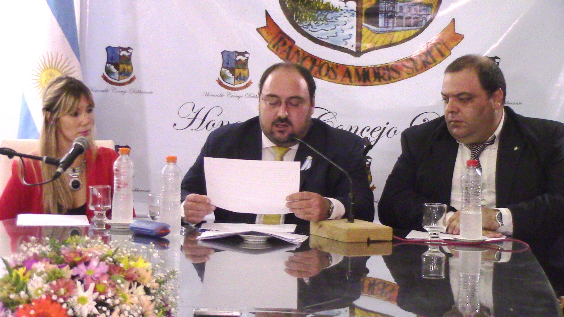 General Paz: Se realizó la ceremonia de Apertura del Trigésimo Cuarto Período Legislativo del HCD
