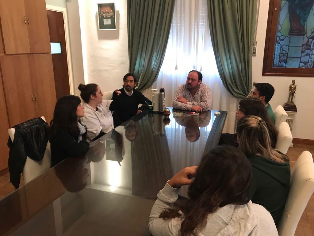 Municipalidad de General Paz: EL INTENDENTE GESTIONO UN NUEVO HORARIO DE TRANSPORTEPARA ESTUDIANTES QUE VIAJAN A CHASCOMUS