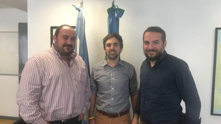 GESTIONES DEL INTENDENTE ALVAREZ EN ELMINISTERIO DE TRABAJO
