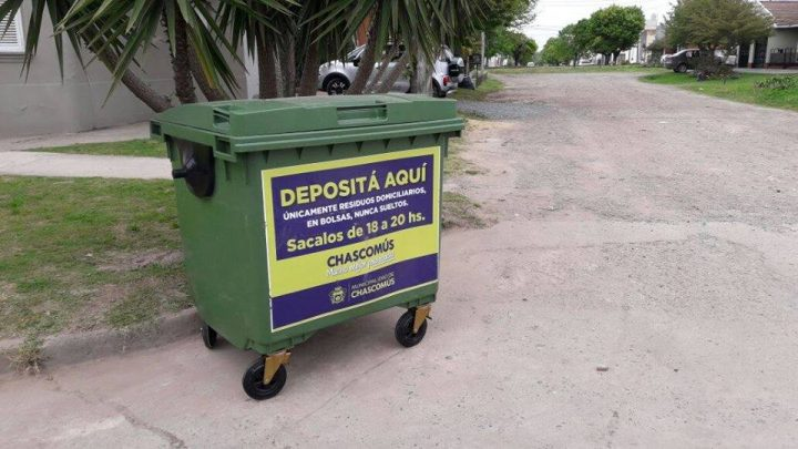 CHASCOMÚS: Cronograma de recolección de residuos para este fin de semana largo
