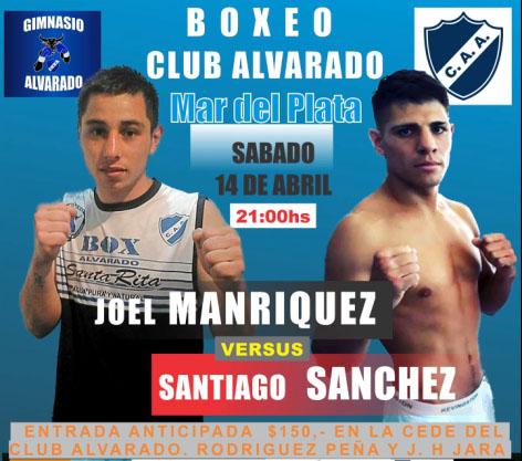 Boxeo: Santiago Sánchez en Mar del plata