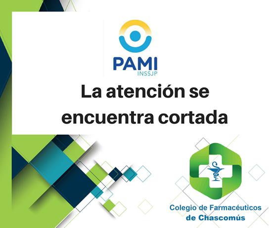 """Desde el Colegio de Farmacéuticos de Chascomús advierten que """"es inviable"""" el nuevo convenio con PAMI"""