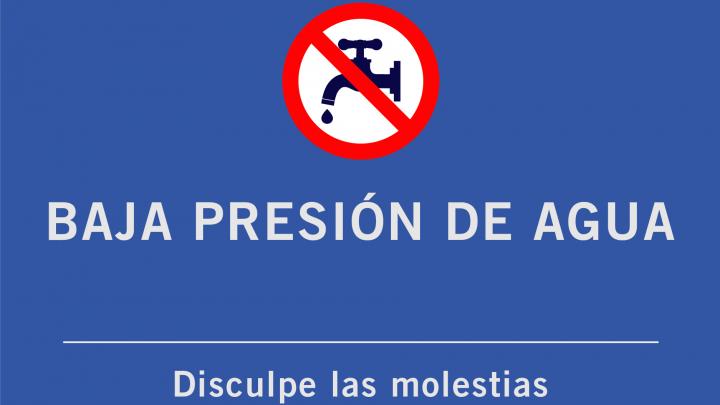 Chascomús: BAJA PRESIÓN DE AGUA