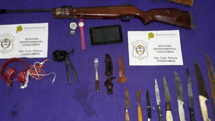 Chascomús: Recuperan elementos robados