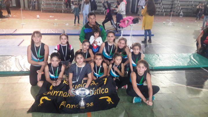 Ranchos: Se realizó el sábado en el Club Deportivo de Villa Elisa, la Copa Challenger de Gimnasia Artística.