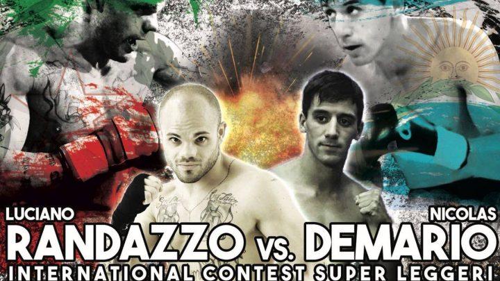 En los puños del Boxeador Nico Demario la copa Pascualito Perez viaja a Italia