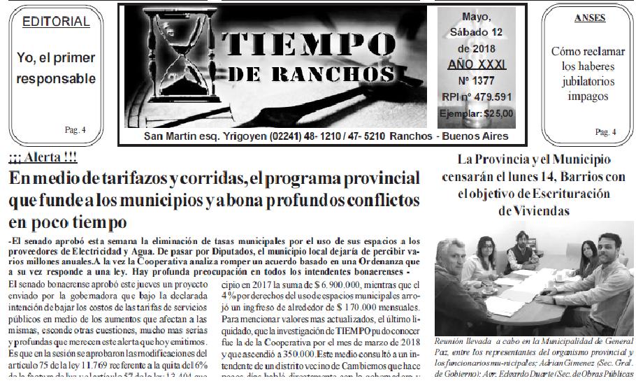 En medio de tarifazos y corridas, el programa provincial que funde a los municipios y abona profundos conflictos en poco tiempo