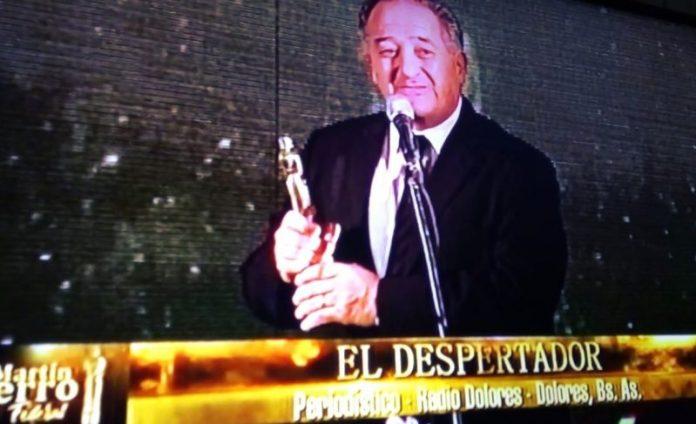 """Horacio """"Pichi"""" Burgueño de Radio Dolores ganó el Martín Fierro Federal"""