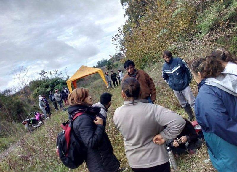 Chascomús: Intento de usurpación en terrenos en González Chávez y Bahía Blanca