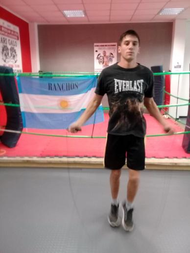 """Nico Demario: """"Viajo a Italia sabiendo que voy perdiendo los 3 primeros rounds"""""""