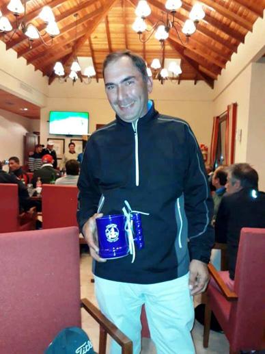 Rodolfo Ortiz:  Otro segundo puesto en Golf