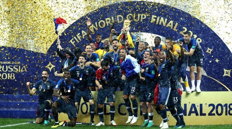 ¡Francia campeón! Le ganó 4 a 2 a Croacia y se consagró por segunda vez en su historia