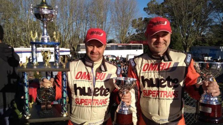 Ariel Robbiani fue el ganador de Rally Mar y Sierras en Ayacucho