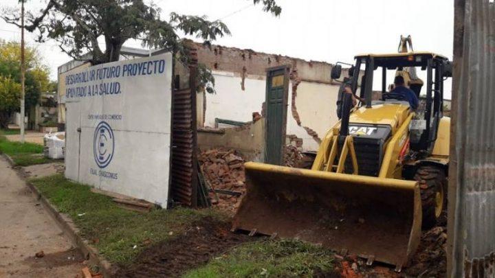 Comenzaron las obras del centro de salud para Empleados de Comercio