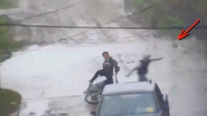 Dos menores aprehendidos por el robo de una moto