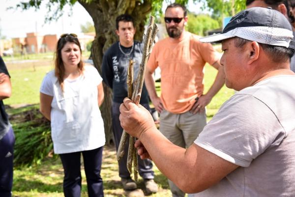 CHASCOMÚS: LOS ALUMNOS DE LA ESCUELA 502 VISITARON EL VIVERO MUNICIPAL ENRIQUECIENDO CONOCIMIENTOS SOBRE FORESTACIÓN