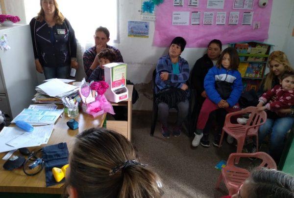Chascomús: DISTINTAS ACTIVIDADES PARA ACERCAR LA SALUD A LOS VECINOS