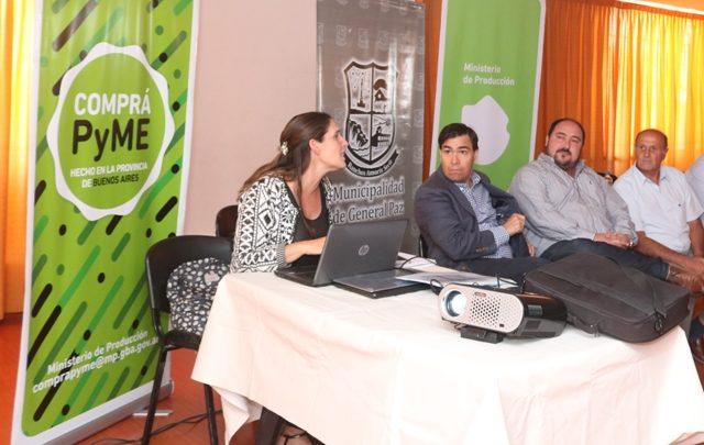 El Ministro de la Producción Dr. Javier Tizado estuvo hoy en Ranchos