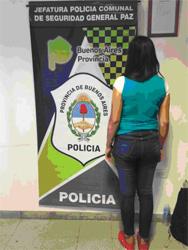Informe de Jefatura de Policía Comunal Gral. Paz: Aprehensiones y robo de moto