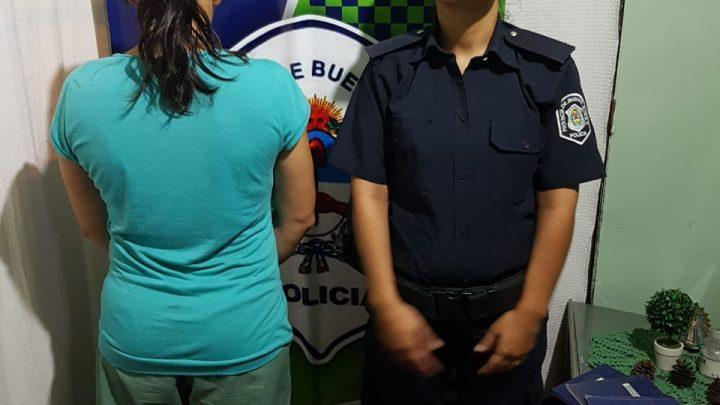 Informe de la Policía Comunal de General Paz: Detenida tras allanamiento en Villanueva