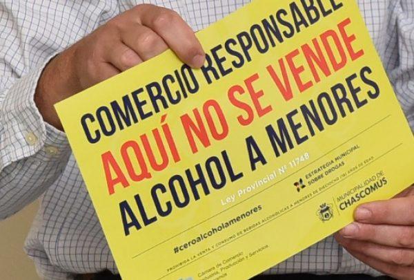 """Chascomús: MÁS COMERCIOS SE SUMAN A LA CAMPAÑA """"CERO ALCOHOL A MENORES"""""""