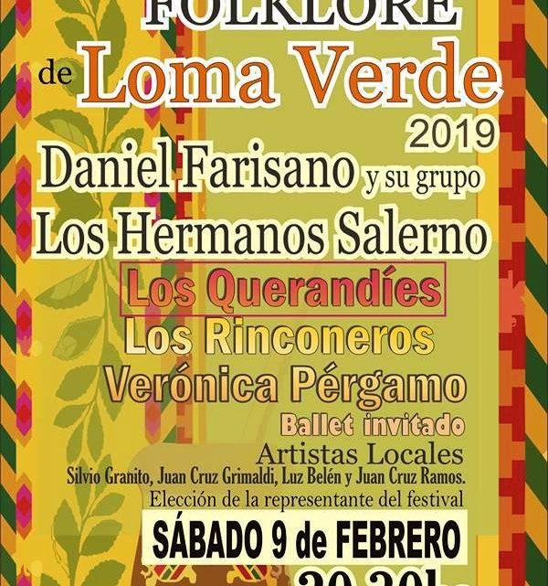 Festival de Folklore en Loma Verde