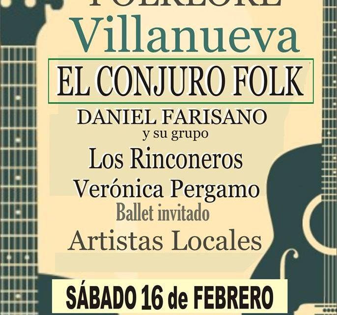 Festival de Folklore en Villanueva