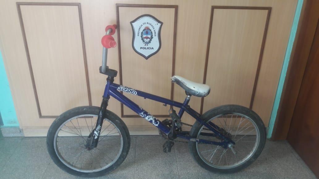 Informe de la Policía Comunal de Gral. Paz: Recuperación de Bicicletas