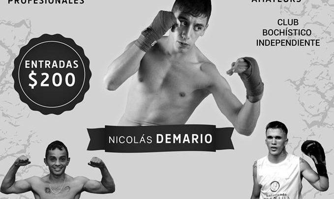 """Festival de Box Profesional """"Noche de promesas"""""""