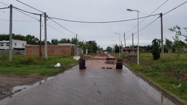 Municipalidad de General Paz: BACHEOS Y REPARACIONES EN DIFERENTES CALLES  DE RANCHOS